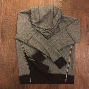 Lululemon hoodie with zip sides